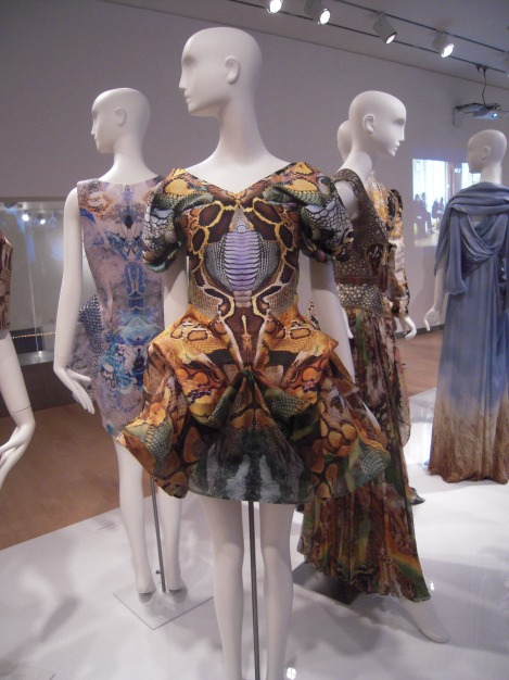 2010 Alexander McQueen Dress, Photo by AZ Style Girl
