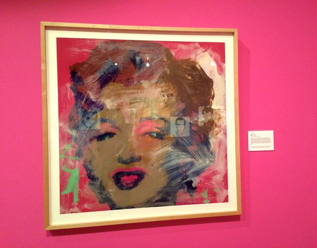 Andy Warhol Marilyn Drawing 1967, Photo by AZ Style Girl